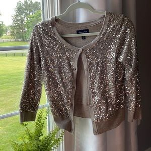 Sequin Cardigan from AEO